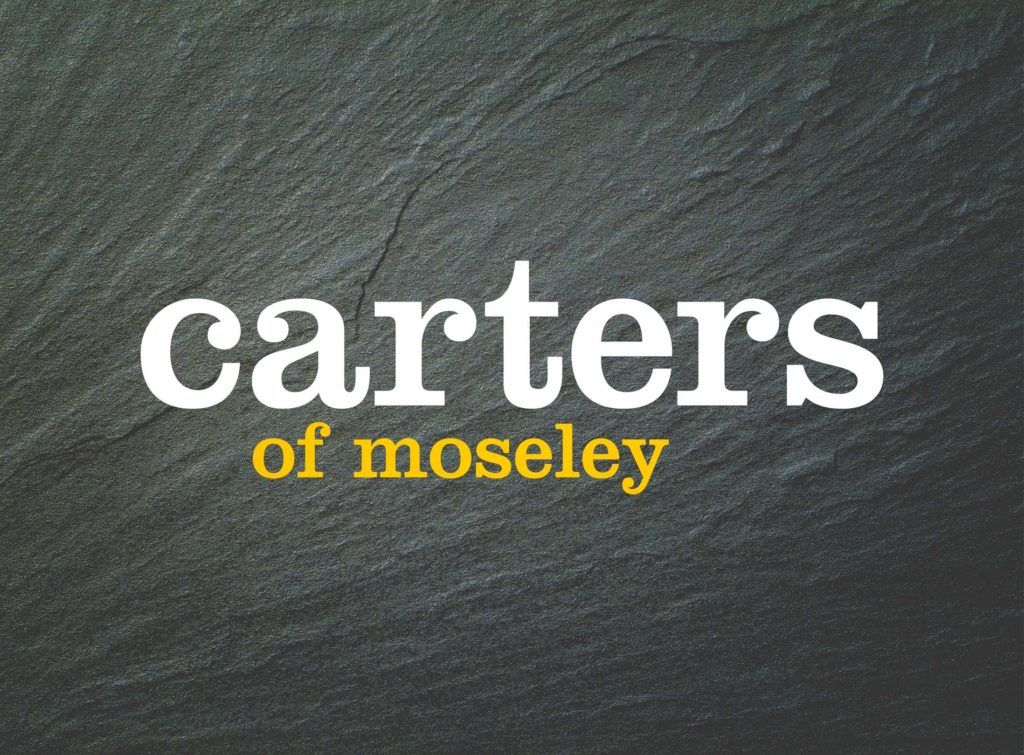 Carters of Moseley Brand Identity
