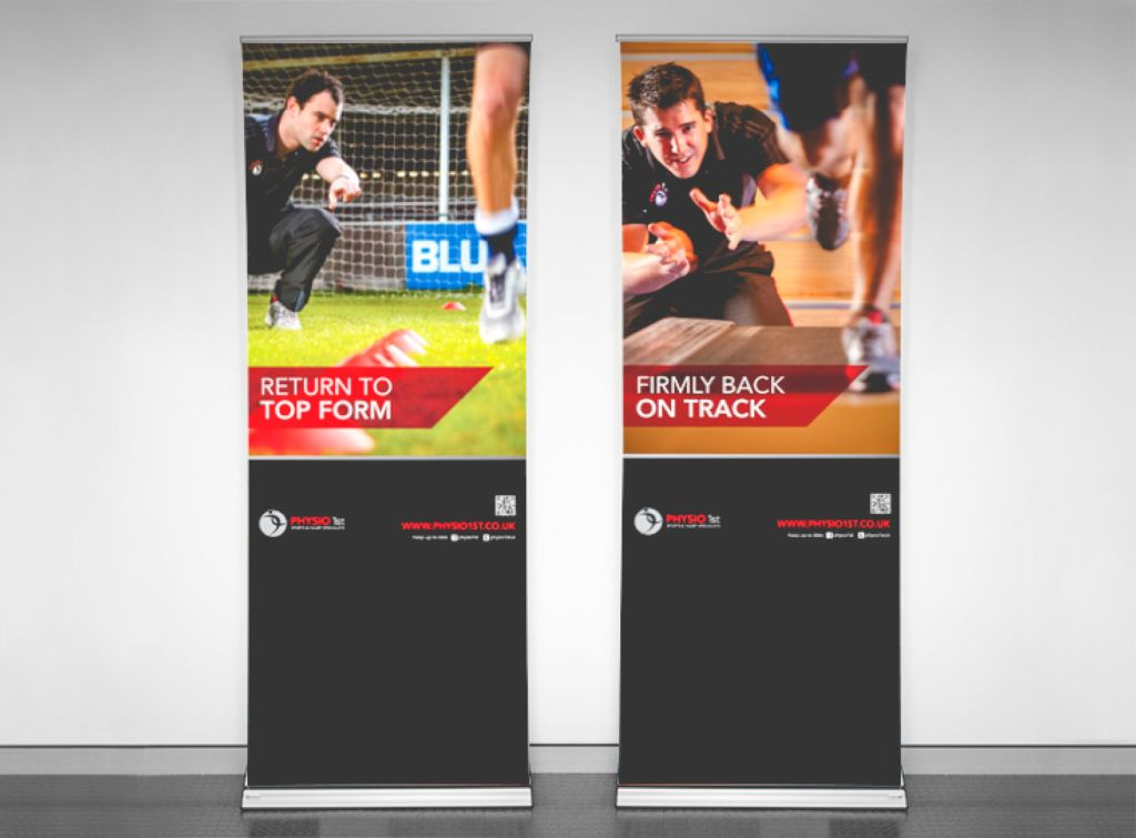 Physio 1st Pull-Up Banners