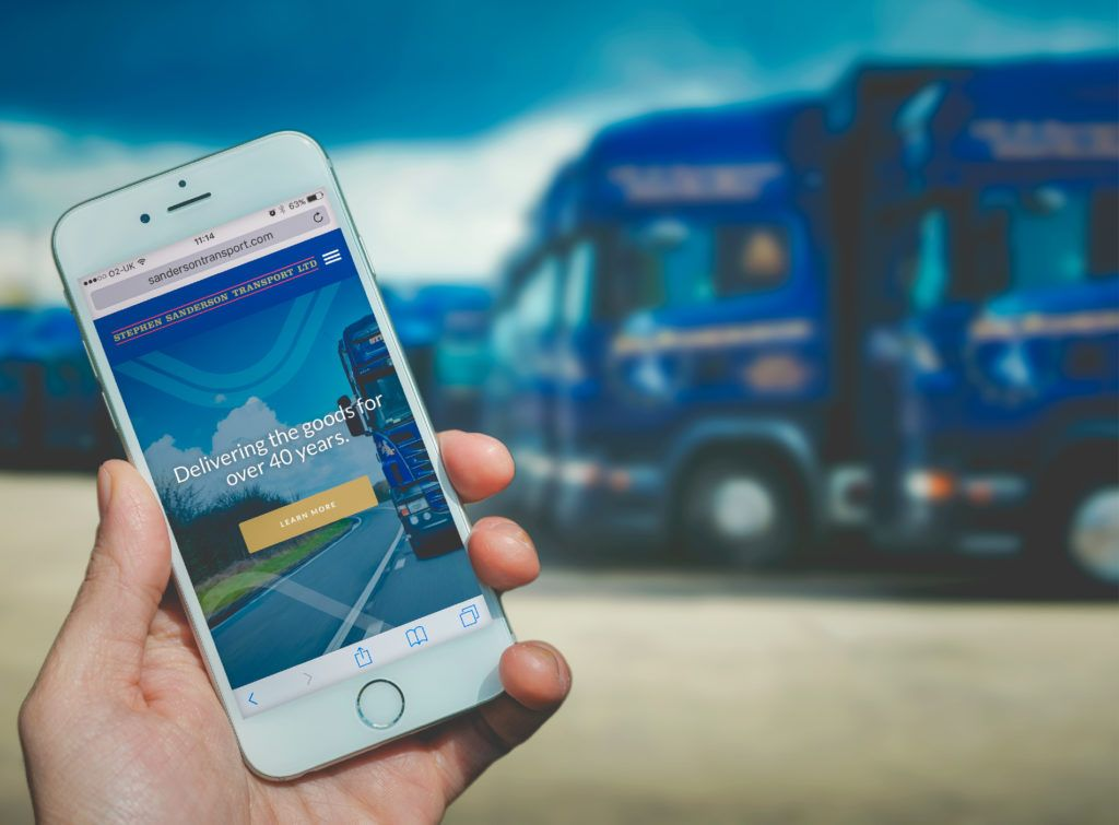 Sanderson Transport Website