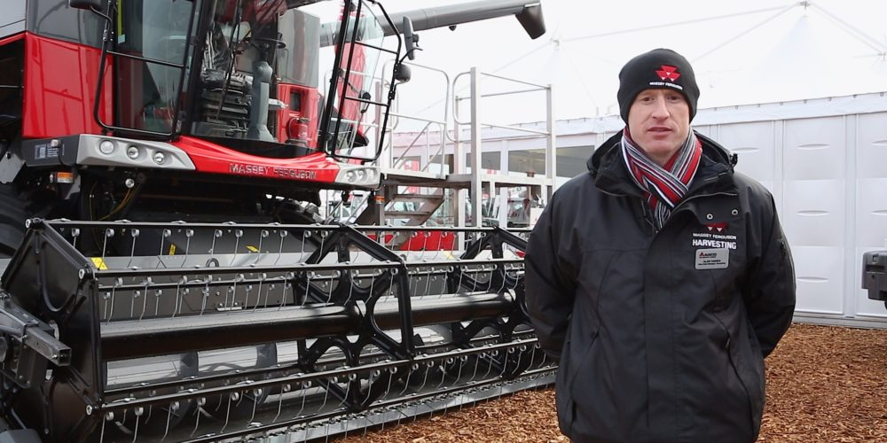 Massey Ferguson at LAMMA 2015 Show