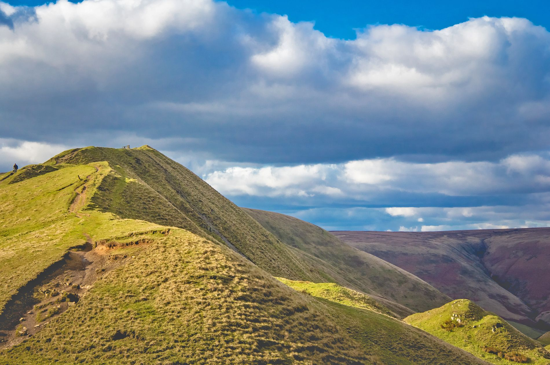 "A Valentines hike to the ""Mother Hill"" Mam Tor!  1"