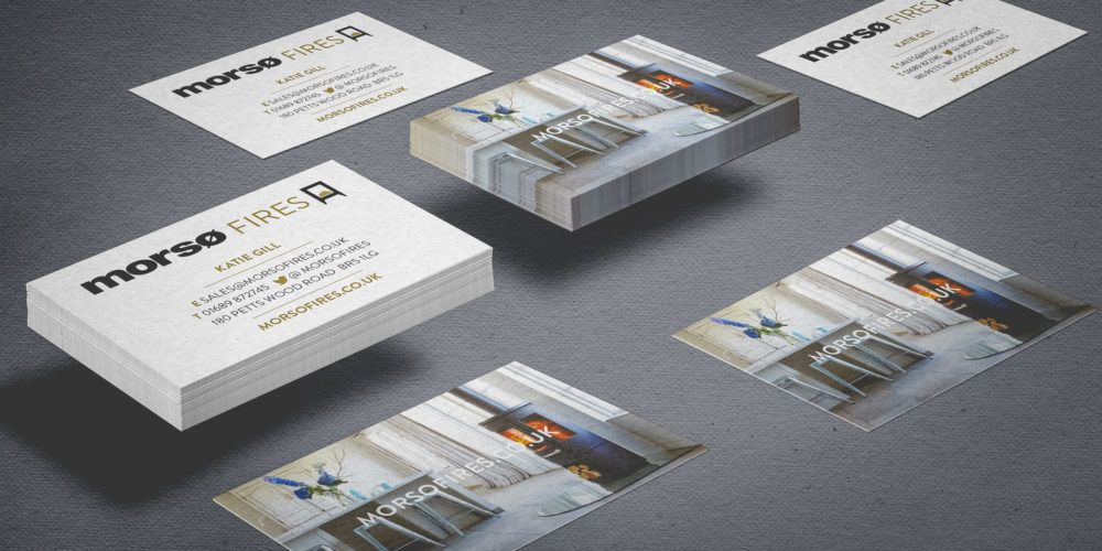 Morsø Fires - Business Cards 1